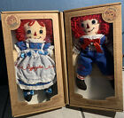 Raggedy Ann  Andy Dolls With Certificate Of Authenticity
