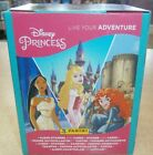Panini Disney Princess Live Your Adventure Stickers Collection 9 18 36 packs Box
