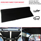 Automotive Headliner Roof Liner Upholstery Torn Rig Sagging Replacement Black