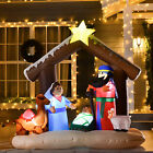 6 Christmas Inflatable Decoration w Bible Arch of Jesus Birth Home Decor