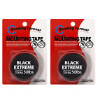 Black Double Sided Tape Black Extreme Foam Tape Adhesive Mounting Tape 1in width