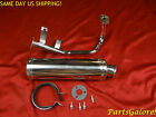 Stainless Steel Performance Exhaust System GY6 50cc QMB139 Chinese Scooter