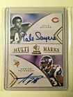 Gale Sayers Adrian Peterson AUTO # 99 Rookie Threads Multi Marks 2008 Autograph