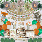218 Piece Woodland Baby Shower Decorations for Boy Or Girl Kit  Gender Neutral