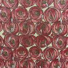 Mackintosh Tapestry Pink Jacquard Weave Floral Art Nouveau Upholstery