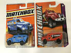 Inventory Wipeout Minicar Competitions Matchboxes Swat Truck 2 Pack