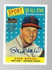 2021 Topps Stan Musial 80th Anniversary Baseball Cards 7