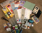 HUGE paper crafting lot Sizzix Stampin UP Making Memories much NEW