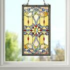 Stained Glass Window Panel 15 by 26 ZP173