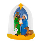 Nativity Starry Night LED Christmas Decor Outdoor Inflatable 65 ft