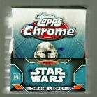 2021 Topps Chrome Star Wars Legacy Factory Sealed Hobby Box - 1 Auto or Sketch