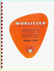 Wurlitzer 1900 Service Manual