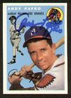 Andy Pafko Cards and Autograph Memorabilia Guide 43