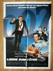 007 JAMES BOND: German 1-sh LICENCE TO KILL 1989 Timothy Dalton