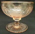Hocking Mayfair Open Rose Pink Sherbet -Depression Era Glass