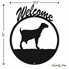 SWEN Products MILK NUBIAN GOAT Metal Welcome Sign