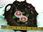 Occupied Japan embossed   Leaf Dish  Wall hanging decorative dish