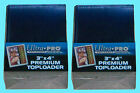 50 Ultra Pro PREMIUM Toploaders 3x4 NEW Card Sleeves Standard Size Trading Sport