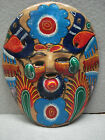 VINTAGE MEXICAN CLAY ART POTTERY MASK ~ MEXICO