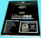100 ULTRA PRO PLATINUM 6-POCKET Card Pages NEW Sheets Protectors Sports Coupon