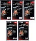 Ultra Pro Resealable Graded Card Sleeves 500 count lot Brand New