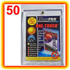 50 Ultra Pro ONE TOUCH MAGNETIC 75pt UV Card Holder Display Case Two Piece 81910
