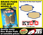 FRONT DISC PADS BRAKE PADS TO SUIT LINHAI Eggy 125 (Scooter) (07-09) EGGY 125cc