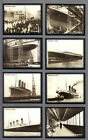 CIGARETTE TRADE CARDS.Rockwell.THE TITANIC.(2000).(Set)