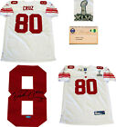 Victor Cruz Autographed New York Giants Authentic White Jersey