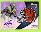 2012 Bowman Football Chrome Refractor Rookie Autographs Guide 60