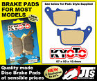 REAR DISC BRAKE PADS SUIT HARLEY DAVIDSON XL50 50th Anniversary Sportster (2007)