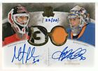 2010-11 UD The Cup Dual Honorable Numbers Martin Brodeur Ryan Miller AUTO 22 30