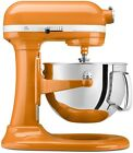 NEW KitchenAid KP26M1XTG Pro 600 Stand Mixer 6 qt Tangerine Orange Big Capacity