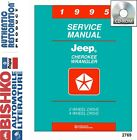 1995 Jeep Cherokee Wrangler Shop Service Repair Manual CD Engine Drivetrain OEM