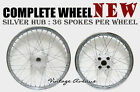 *NEW* HONDA SL125 K0-'73 XL125 K0-'76 FRONT-REAR WHEEL RIM+HUB+SPOKE [F11S+R10S]
