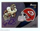 2012 Bowman Football Chrome Refractor Rookie Autographs Guide 57