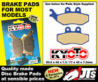 REPLICA FRONT DISC PADS BRAKE PADS FANTIC Caballero 50 Supersei Motard (06-09)