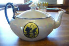 Art Deco Phoenix China, Czech handpainted lustre teapot w/ different silhouettes