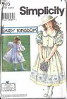 Uncut Simplicity Vintage Sewing Pattern Girls Daisy Kingdom Dress Doll 7005