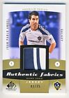 Juan Pablo Angel 2011 UD SP Game Used Soccer Authentic Fabrics Jersey Card 03 35