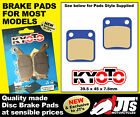 REPLICA FRONT SET DISC BRAKE PADS AJS Regal Raptor DD50 / DD 50 E / E2 (04-10)