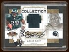 LeSEAN McCOY 2009 THREADS RC AUTO PATCH #01 50 EAGLES SUPERSTAR HOT RC AUTO