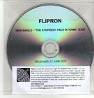 (CM848) Flipron, The Stupidest Face In Town - 2011 DJ CD