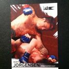 2010 TOPPS UFC SCOTT JORGENSEN KNOCKOUT ROOKIE RC CARD RUBY RED 5 8
