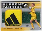 Chad Marshall 2011 UD SP Game Used Soccer Supreme Fabrics Logo Patch Card 13 15