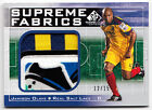 Jamison Olave 2011 UD SP Game Used Soccer Supreme Fabrics Logo Patch Card 12 15