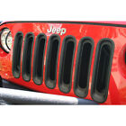 2007-2014 Jeep Wrangler & Unlimited Grille Grill Insert Kit Black
