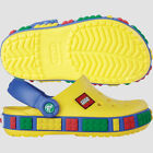 Crocs Kids Crocband LEGO Clog Boys Yellow C4 5 C6 7 C8 9