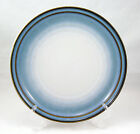 Noritake SORCERER 8620 Dinner Plate 10.375 in. Stoneware Blue Halo Brown Bands