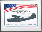Owl Decals 1/144 PBY-5A CATALINA BLACK CAT U.S. VERSION Resin Conversion Kit